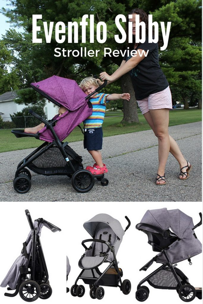 Evenflo Sibby Travel System| Perfect (Non-Double) Stroller ...