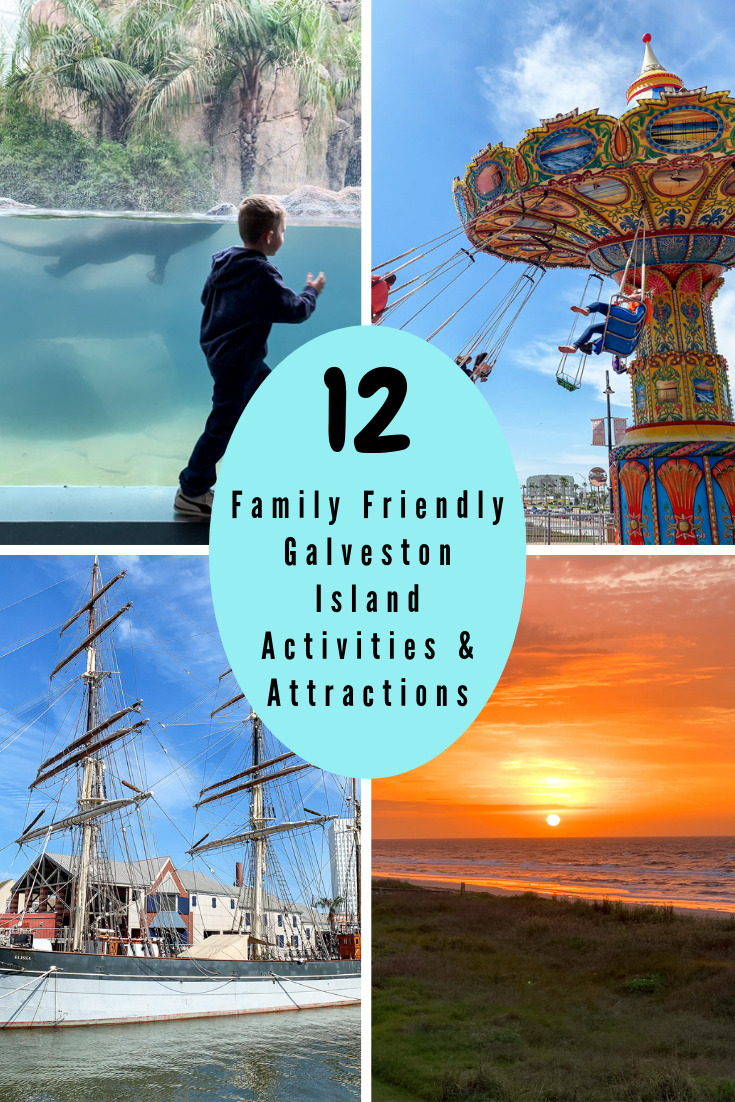 Family friendly galveston island activities attraction