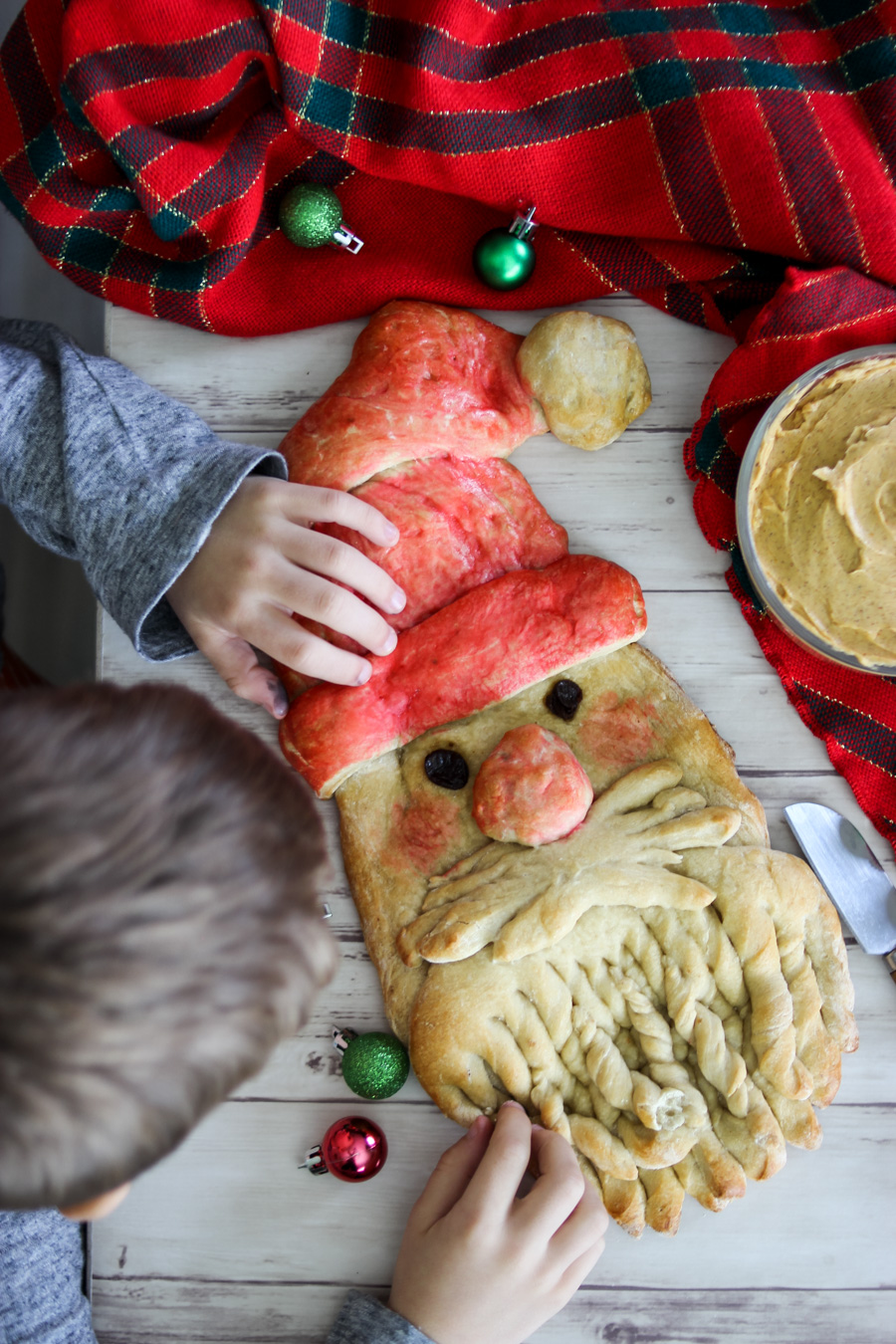 Santa Bread Recipe Tutorial