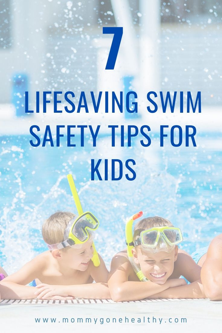 Lifesaving swim & pool safety tips for kids and families